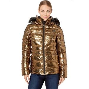 The North Face Gotham Jacket Metallic Copper